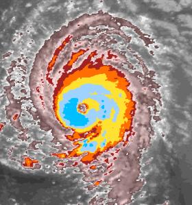 Hurricane Isabel Eye